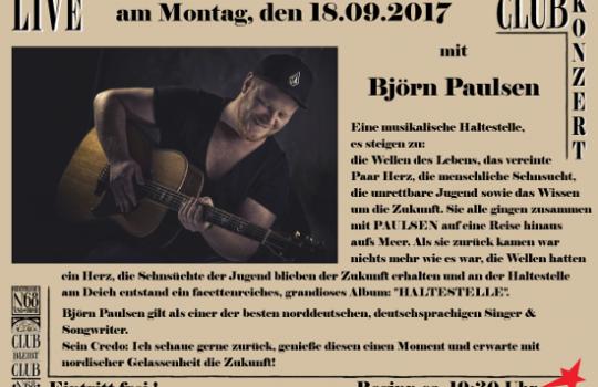 Clubkonzert – Kiel Club 68