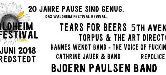 Waldheim-Festival 2018 – Wir sind dabei!